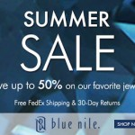 Blue Nile – Get up to 50% off Jewelry using Promo Code + Free Shipping! (Thru 7/31)