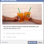 Starbucks – Buy any Size Valencia Orange Starbucks Refreshers, Get One FREE! (Valid 8/1-8/3)
