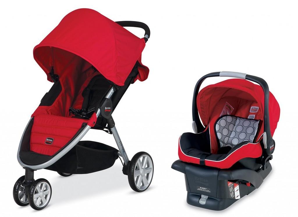 britax stroller system