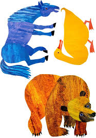 brown bear coloring page - Eric Carle Coloring Pages