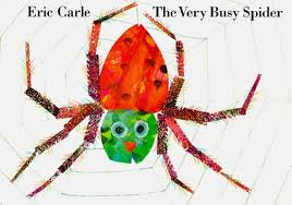 busy spider coloring page