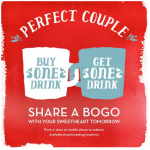 Caribou Coffee: Buy One Drink, Get One Free w/ Coupon! (2/14)