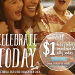 Caribou Coffee- $1 Kid's Coolers, Smoothies, and Silly Sodas (Today Only, August 11th!)