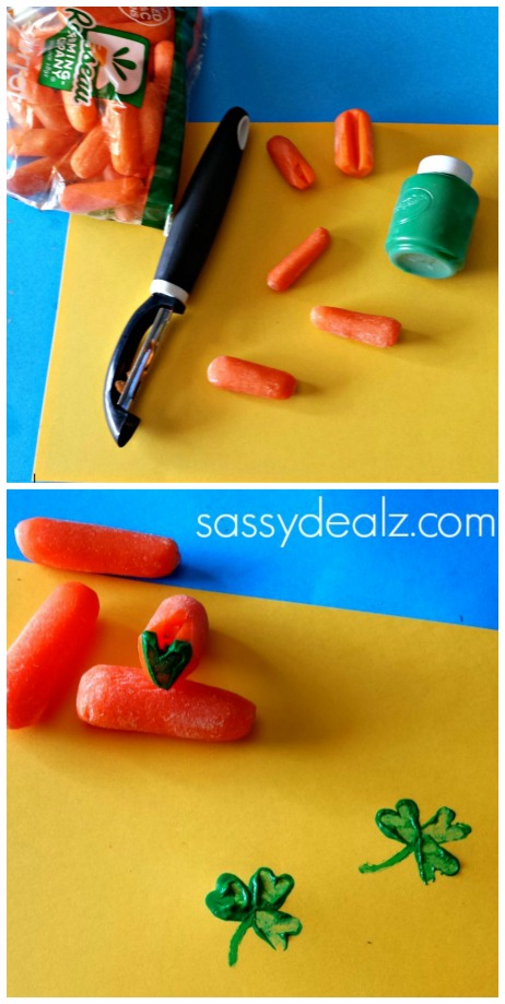 carrot-shamrock-stamp