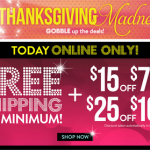 Charlotte Russe: Get FREE Shipping w/ No Min. (+$15 off $75, $25 off $100)