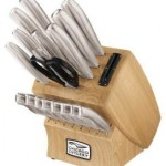 Chicago Cutlery 18-Piece Insignia Steel Knife Set with Block & Sharpener Over 50% OFF + Free Shipping!