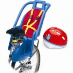 Bike Child Carrier with Toddler Helmet Included Only $14.96 + Free Shipping (Reg. $89.99!)
