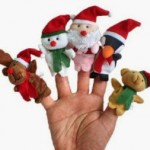 5 Christmas Finger Puppets For Kids Just $2.59 + Free Shipping