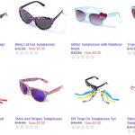 Claire's.com $5 Sunglasses Sale! (Aviators, Zebra Print, Leopard Print, Retro Styles, etc)