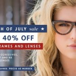 Coastal.com 4th of July Sale – 40% Off Frames and Lenses +30% Off Promo Code For Sunglasses