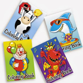 Pack Of Kid S Coloring Books Great Party Favors Assorted Designs