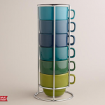 World Market: Ombre Stacking 6 Mug Set ONLY $8.77 + Free Shipping