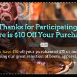 Country Outfitters $10 off a $75 Purchase + Free Shipping and Giveaway Offer!