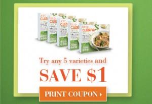 $1/5 any Lean Cuisine Varieties Printable Coupon
