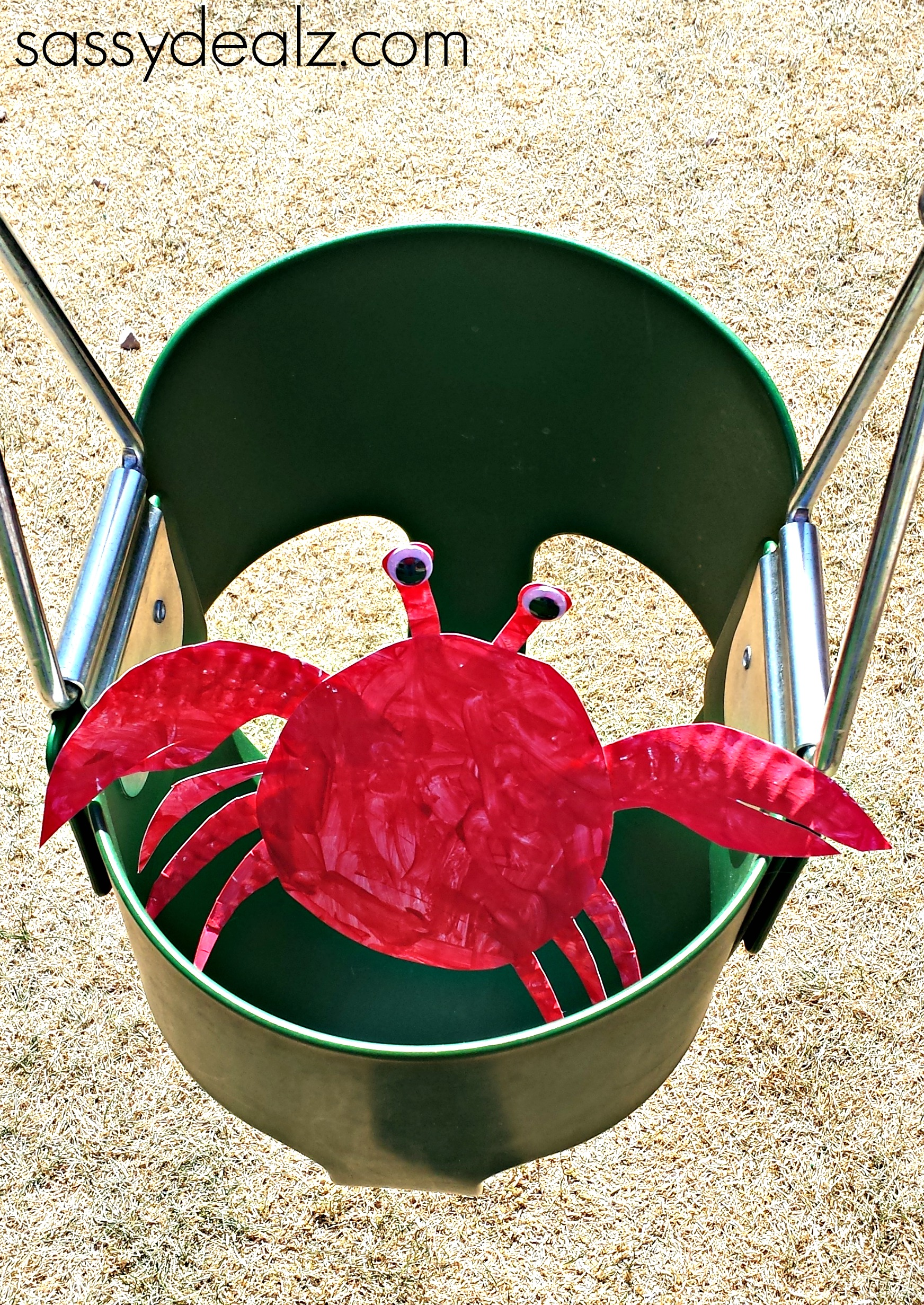 crab-paper-plate-craft & Paper Plate Crab Craft For Kids - Crafty Morning