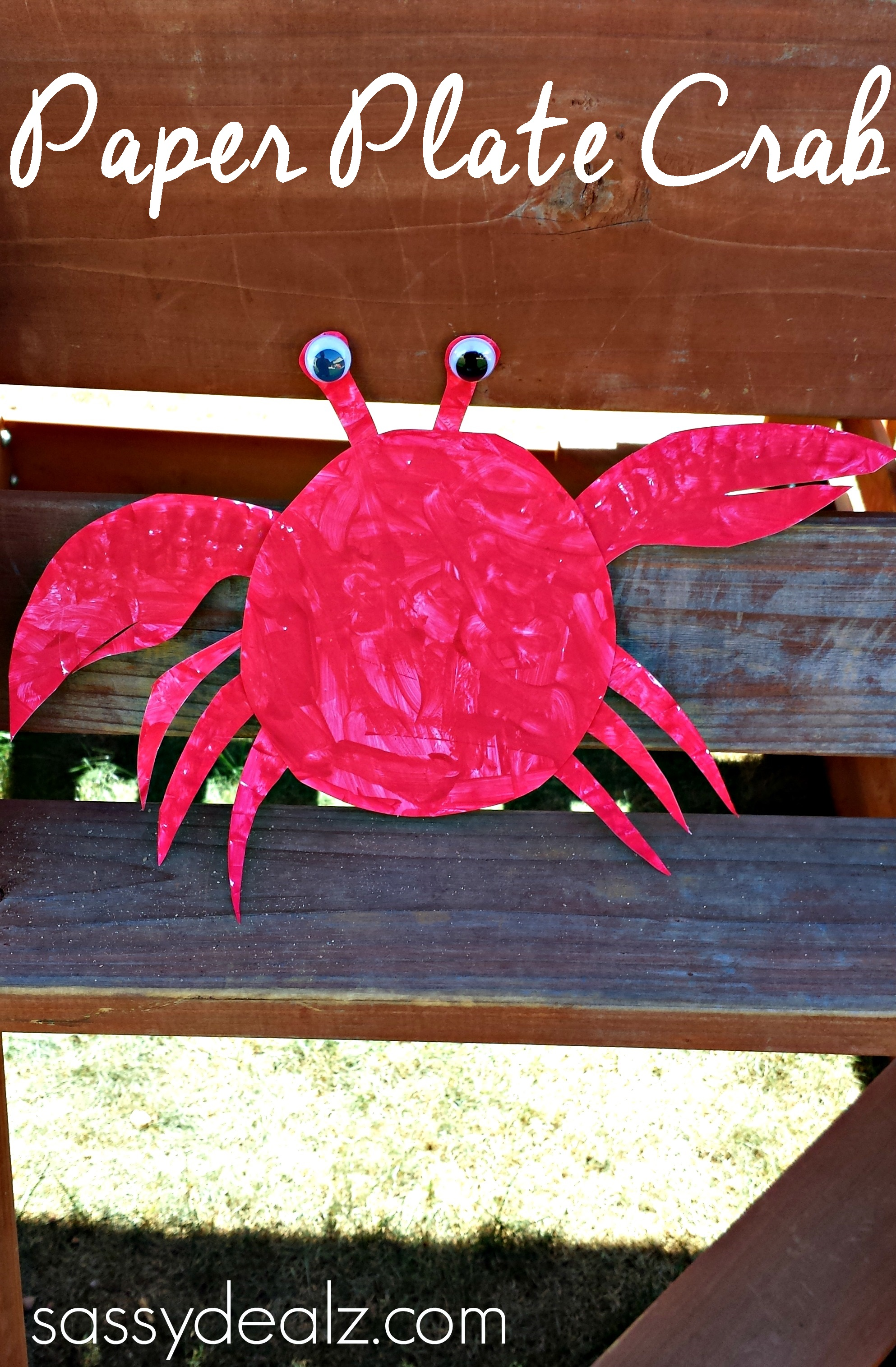 crab-paper-plate-crafts-kids & Paper Plate Crab Craft For Kids - Crafty Morning