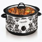 Vintage Damask Crock Pot Only $14.99 + Free Shipping (Reg $29.99!)