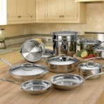 Cuisinart 77-17 Chef's Classic Stainless 17-Piece Cookware Set Only $200 + Free Shipping *LOWEST PRICE*