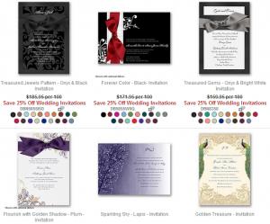 David's Bridal – 25% Off ALL Wedding Invitations/Invites Promo Code
