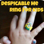 How To Make a Despicable Me Minion Ring (Cheap Craft Idea For Kids)