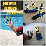 Despicable Me Minion Finger Puppets & Figurines- Cheap Kid's DIY Craft