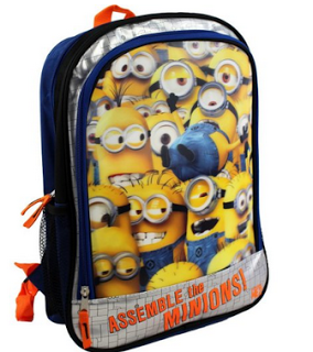 Despicable Me Kids Backpack Only $19.99 (Reg.$36 - 44% Off!)   ...