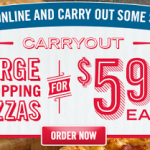 Domino's Pizza: Get a Large 2 Topping Pizza for Only $5.99 (Thru 11/17!)