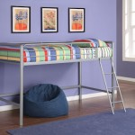 Black or Silver Dorel Home Products Junior Loft Bunk Just $119 + Free Shipping (Reg $449!)