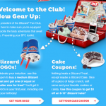 Dairy Queen – BOGO Medium Blizzard FREE + $3 off a Blizzard Cake Printable Coupons (Email Sign-Up)