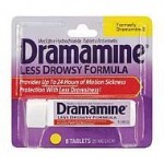 Free Sample of Dramamine Less Drowsy Formula