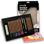 21 Piece Art Drawing Set ONLY $6.95 + Free Shipping (Reg $26.99!)
