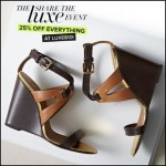 DSW Shoes 25% Off Everything at Luxe810 Promo Code