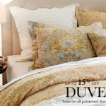 Pottery Barn – Free Shipping on ALL Mirrors & Bedding +15% Off Duvets and 20% off Comforters (Thru July 21st)