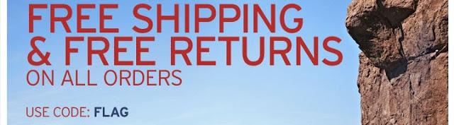 eddie bauer free shipping code