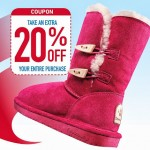 Famous Footwear: 20% Off Printable Coupon/Promo Code (Stack w/ BOGO 1/2 Off Deal!) 11/28-12/1
