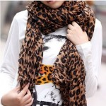 CUTE Fashion Leopard Pattern Shawl Scarf Wrap ONLY $8.99 + Free Shipping (See My Personal Picture!)