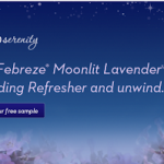 FREE Sample of Febreze Moonlit Lavender Bedding Refresher