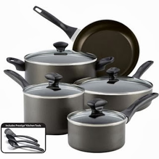 JCPenney: Farberware® 12-pc. Nonstick Cookware Set Only ...