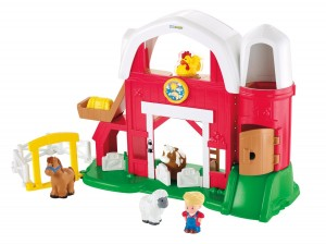 Fisher-Price Little People Animal Sounds Farm Only $19.99