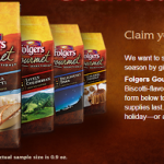 Free Sample of Folgers Vanilla Biscotti Coffee