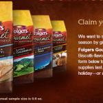 Free Sample of Folgers Vanilla Biscotti Coffee