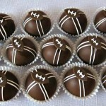 Football Cake Balls Idea {Party Desserts}