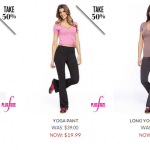 Frederick's of Hollywood- Get Yoga Pants for $9.99 + Free Shipping w/ Code (Reg $49!)