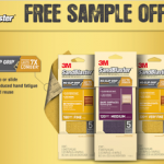 Free Sample of 3M 'No Slip Grip' Sandpaper