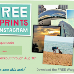 Walgreens- Get 5 FREE 4×4 Prints From Instagram (First 10,000 ONLY!)