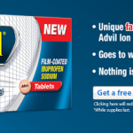 Free Sample of Fast-Acting Advil (HURRY!)