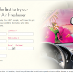HURRY! Free Air Wick Car Air Freshener