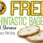 Einsten Bros Bagels: Free Thintastic Bagel + Shmear w/ Coupon (1/15 Only)