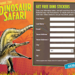 Request Some FREE Dinosaur Stickers – Bronx Zoo
