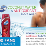 Enter to Win a Free Dial Coconut Water Body Wash Sample (100,000 Winners!)